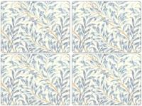 Подставка под горячее Portmeirion Spode Morris&Co Gifts / X0010648719V (4шт, голубая ива) -