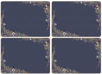 Подставка под горячее Portmeirion Sara Miller London Placemats / X0010648949 (4шт, синий) -