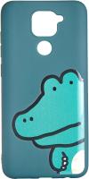 Чехол-накладка Bingo Print для Redmi Note 9 (крокодил) -