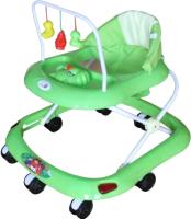 Ходунки Alis Маленький водитель 8 с силиконовыми колесами (зеленый) -