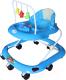Ходунки Alis Маленький водитель 8 с силиконовыми колесами (синий) -