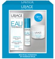 Набор косметики для лица Uriage Eau Thermale Увлажняющий крем+Сыворотка+Ночная маска  (40мл+10мл+15мл) -