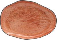 Тарелка столовая мелкая Lubiana Stone Age / LB11-XSRC2ZZ (терракотовый) -