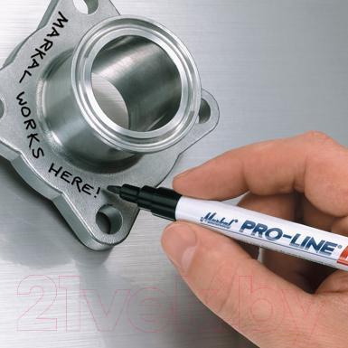 Маркер строительный Markal Pocket Pro-Line Fine / 96874 (красный)