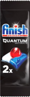 Таблетки для посудомоечных машин Finish Quantum Ultimate (2шт) -