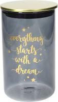 Емкость для хранения Tognana Dolce Casa Dorado Everything starts with a dream / DE5BAD25632 -
