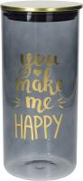 Емкость для хранения Tognana Dolce Casa Dorado You make me happy / DE5BAD35632 -