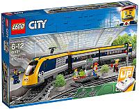 Конструктор электромеханический Lego City Пассажирский поезд 60197  -