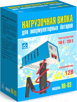 Тестер аккумуляторной батареи Орион HB-03 100/200А / 2003