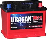 Автомобильный аккумулятор Uragan 60 R+ / 060 14 24 01 0201 07 11 9 L (60 А/ч) -