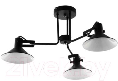 Люстра Aitin-Pro НПБ C1013/3 (черный/белый)