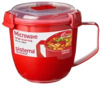 Чаша бульонная Sistema Microwave / 1141 (900мл) -