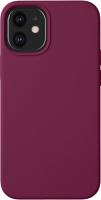 Чехол-накладка Deppa Liquid Silicone Pad для iPhone 12 Mini / 87787 (бургунди) -