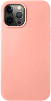Чехол-накладка Deppa Liquid Silicone Pad для iPhone 12 Pro Max / 87713 (розовый) -