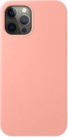 Чехол-накладка Deppa Liquid Silicone Pad для iPhone 12/12 Pro / 87712 (розовый) -