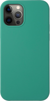 Чехол-накладка Deppa Liquid Silicone Pad для iPhone 12/12 Pro / 87720 (зеленый) -