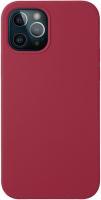 Чехол-накладка Deppa Liquid Silicone Pad для iPhone 12/12 Pro / 87780 (красный) -