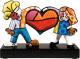 Статуэтка Goebel Pop Art Romero Britto Дети с сердцем / 66-452-07-1 -