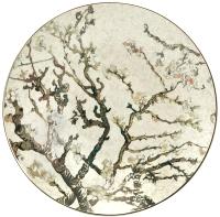 Блюдо Goebel Artis Orbis Vincent Van Gogh Цветущие ветки миндаля/66-500-12-1 (серебристый) -