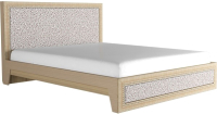 Двуспальная кровать Аквилон Калипсо №18М (туя светлая) -