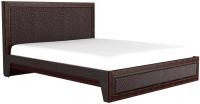 Двуспальная кровать Аквилон Калипсо №18М (венге) -