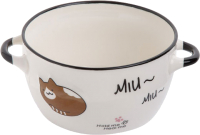 Супница Perfecto Linea Миу-Миу 18-314002 (коричневый кот) -