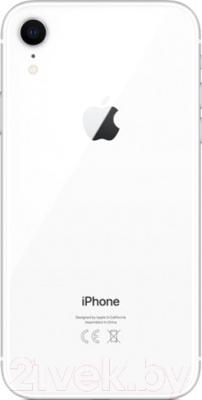 Смартфон Apple iPhone XR 128GB / MH7M3 (белый)