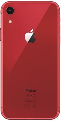 Смартфон Apple iPhone XR 128GB / MH7N3 (красный)