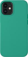 Чехол-накладка Deppa Liquid Silicone Pad для iPhone 12 Mini / 87718 (зеленый) -