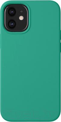 Чехол-накладка Deppa Liquid Silicone Pad для iPhone 12 Mini / 87718 чехол клип кейс deppa liquid silicone для apple iphone 12 mini бургунди [87787]