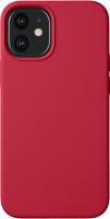 Чехол-накладка Deppa Liquid Silicone Pad для iPhone 12 Mini / 87786 (красный) -