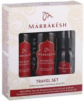 Набор косметики для волос Marrakesh Original Travel Set шампунь 100мл+кондиционер 100мл+масло 30мл -