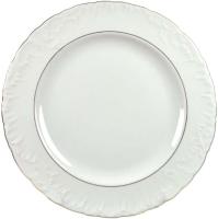 Тарелка столовая мелкая Cmielow i Chodziez Rococo / 3604-0031290 (золотая линия) -
