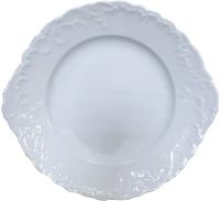 Блюдо для торта Cmielow i Chodziez Rococo / 0002-0031510 (белый) -