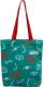 Сумка-шоппер MONAMI HY-CSLLBD03 (№1 зеленый) -