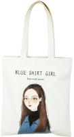 Сумка-шоппер MONAMI XBD-06 (№3 девушка в голубом) -