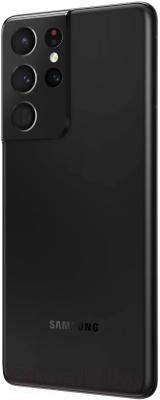 Смартфон Samsung Galaxy S21 Ultra 256GB / SM-G998BZKGSER (черный фантом)