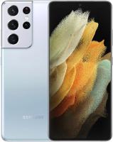 Смартфон Samsung Galaxy S21 Ultra 256GB / SM-G998BZSGSER (серебряный фантом) -