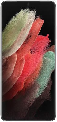 Смартфон Samsung Galaxy S21 Ultra 128GB / SM-G998BZKDSER (черный фантом)
