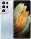 Смартфон Samsung Galaxy S21 Ultra 128GB / SM-G998BZSDSER (серебряный фантом) -