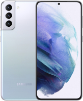 Смартфон Samsung Galaxy S21+ 256GB / SM-G996BZSGSER (серебряный фантом) -