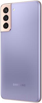 Смартфон Samsung Galaxy S21+ 256GB / SM-G996BZVGSER (фиолетовый фантом)