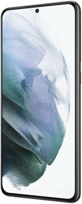 Смартфон Samsung Galaxy S21+ 128GB / SM-G996BZKDSER (черный фантом)