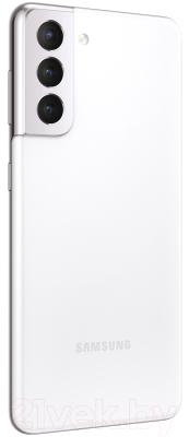 Смартфон Samsung Galaxy S21 256GB / SM-G991BZWGSER (белый фантом)