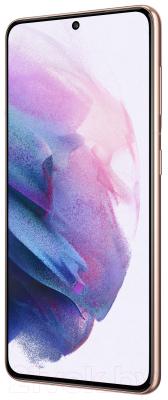 Смартфон Samsung Galaxy S21 128GB / SM-G991BZVDSER (фиолетовый фантом)