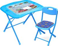 Комплект мебели с детским столом Ника NKP1/6 Большие гонки -