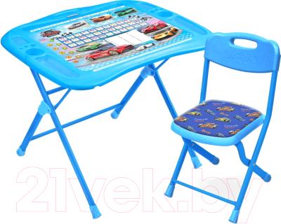 Комплект мебели с детским столом Ника NKP1/6 Большие гонки