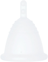 Менструальная чаша Me Luna Classic SH-M STEM Clear / MMCSCS -