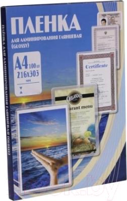 Пленка для ламинирования Office Kit 60мик А4 / PLP100123