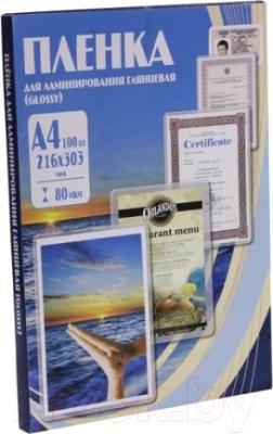 Пленка для ламинирования Office Kit 80мик А4 / PLP10323